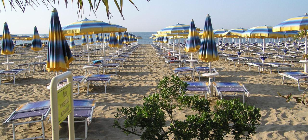 Spiaggia Jesolo Windsor Vista fronte
